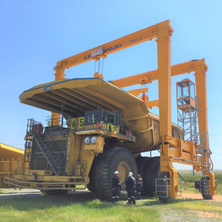 63t Bowl Handling Crane